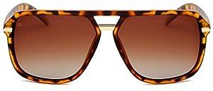 "PRIVÉ REVAUX ICON Collection ""The Bruce"" Designer Polarized Aviator Sunglasses"