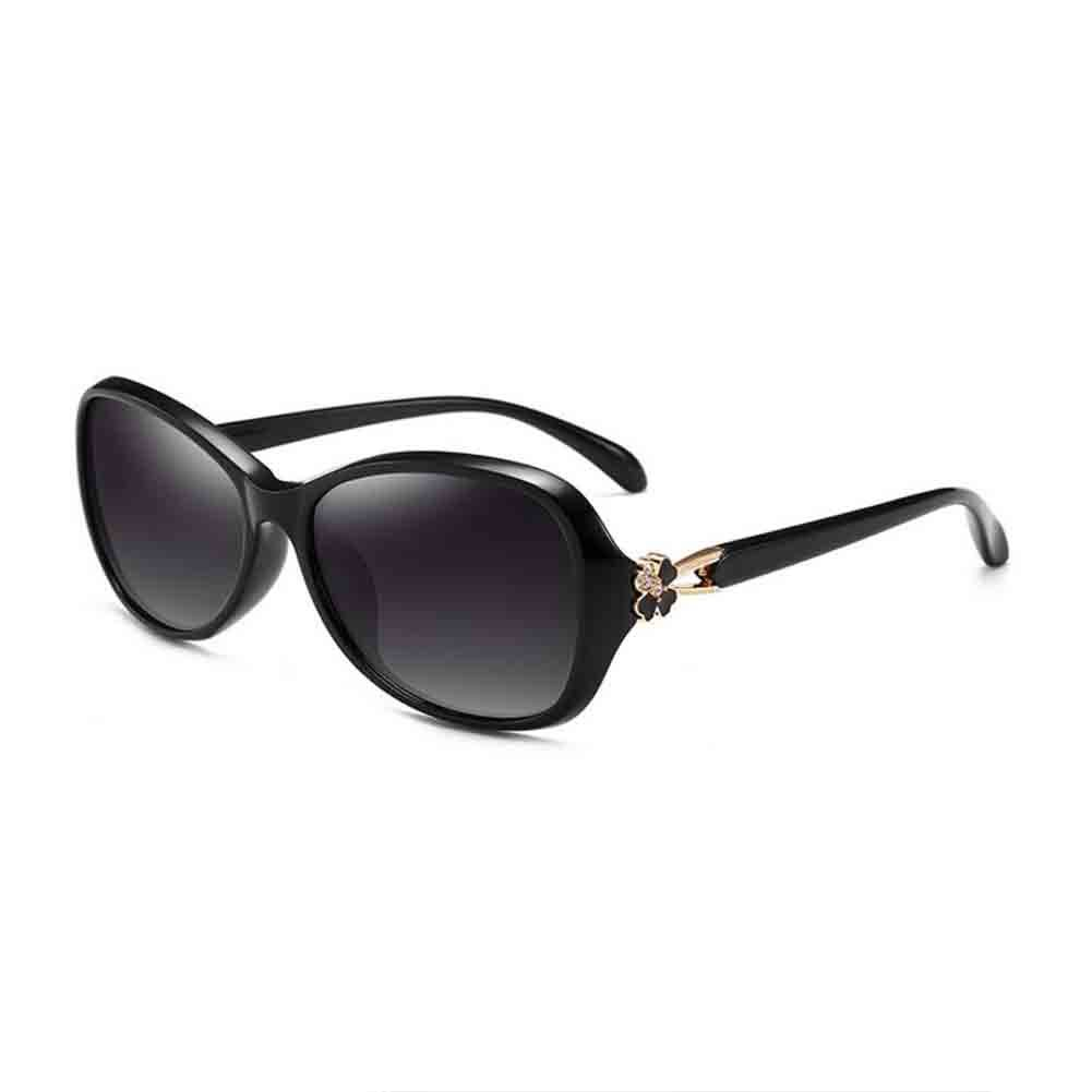 Black Women's Sunglasses Highend Women's Polarized Sunglasses UV400 AntiUV Spring and Summer  New Upgrade Material  Quality Assurance Predect The Eye Skin (color   Wine Red)