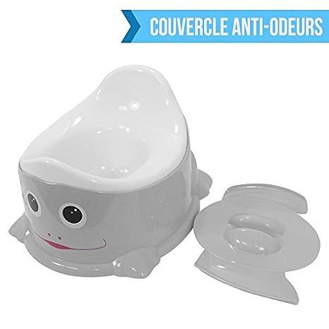 Monsieur Bébé ® Pote de aseo/ Orinal + tapa anti olor + Asa de ...