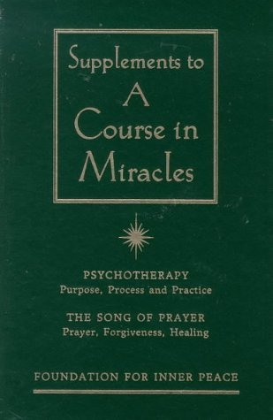 Course in Miracles: Supplement (Arkana) by Foundation for Inner Peace (1997-06-05)