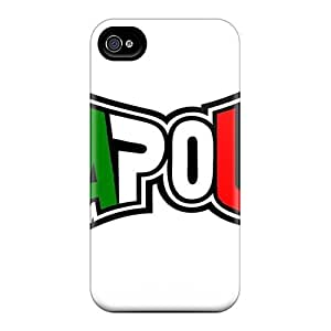 Shock Absorption Hard Cell-phone Case For Iphone 4/4s (xUQ8463JhJw) Customized HD Tapout Skin