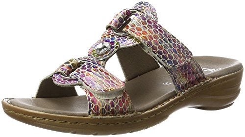 Ara Ladies Hawaii Mules Multicolore (multi)