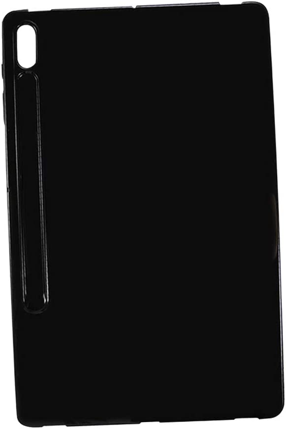 Daytwork Case for Samsung Galaxy Tab S7+//S7 Plus Gel Rubber Soft Skin TPU Shockproof Protective Cover for Samsung Galaxy Tab S7+//S7 Plus SM-T970//T975 12.4 inch 2020 Tablet