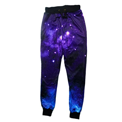 Catamaran Men's Joggers Galaxy Space Sweatpants Blue, used for sale  Delivered anywhere in Canada