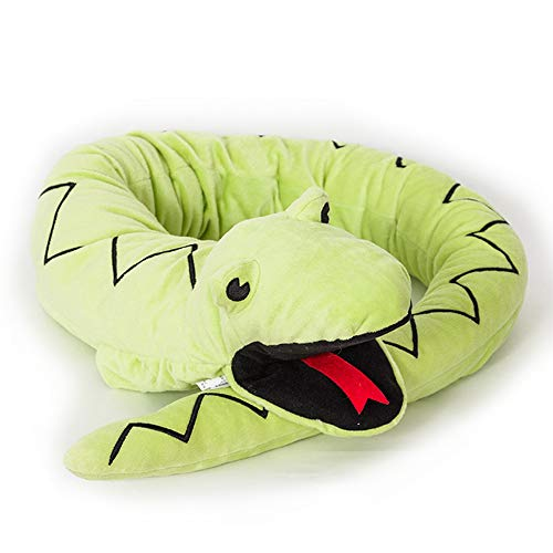 HugeHug Large Hand Puppet Snake Stuffed Animals Plush Toy Doll 59