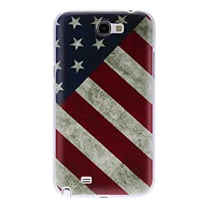AES - Vintage America Pattern Hard Case for Samsung Galaxy Note 2 N7100