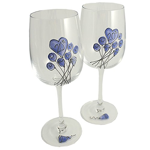 20th-Wedding-Anniversary-Wine-Glasses-Pair