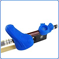 OZone Blue 2-Piece Set: Bow Hold Bow Grip Violin/Viola Teaching Aid Accessories