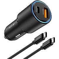 ELECJET Samsung Supersnelle Autolader 45W USB C | 0 tot 70% in 30 minuten! | Galaxy S21/S20/Ultra/Plus/5G Note 20/10…