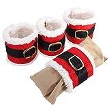 Napkin Rings - 4pcs Christmas Serviette Holder Napkin Rings Dinner Table Decor - Koyal Diamonds 100 Knot Galvanized Enamel Vintage Tanks Handmade Elegant