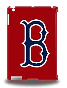 Hot Tpye MLB Boston Red Sox Logo 3D PC Case Cover For Ipad Air ( Custom Picture iPhone 6, iPhone 6 PLUS, iPhone 5, iPhone 5S, iPhone 5C, iPhone 4, iPhone 4S,Galaxy S6,Galaxy S5,Galaxy S4,Galaxy S3,Note 3,iPad Mini-Mini 2,iPad Air )