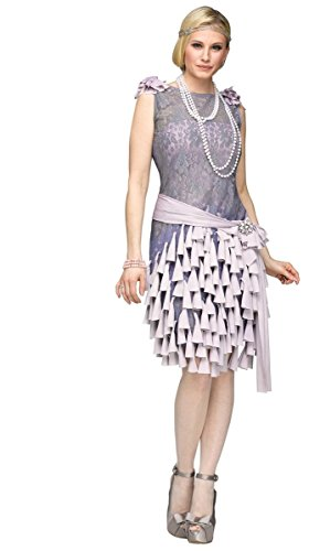 Fun World Women's The Gatsby-Daisy Buchanan Bluebells Costume, Multi, Small -
