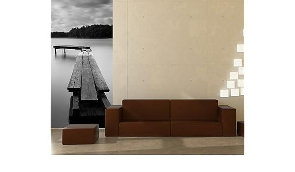 Fototapete Bilderdepot24 Autoadhesivo Fotomural Puente de Nueva York 100x65 cm Papel Pintado la fabricaci/ón Made in Germany!