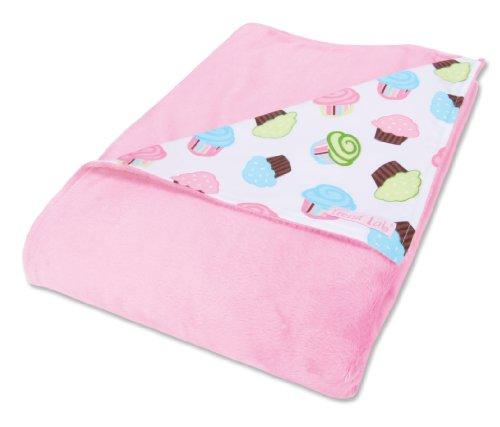 Trend Lab Receiving Blanket, Cupcake