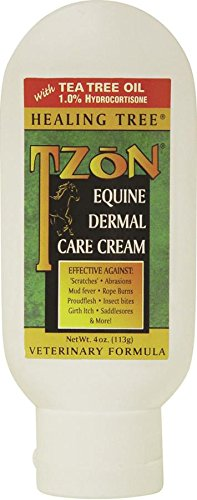 Healing Tree Products TZoNDermalCareCreamEquine (Best Wound Healing Products)