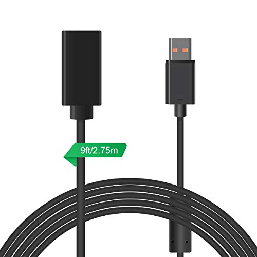 - LANMU Extension Cable Cord for Xbox 360 Kinect Sensor (9ft/2.75m)