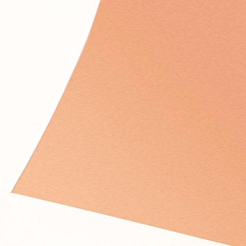 HEASEN 1pc 99.9% Pure Copper Cu Sheet Foil Thin Metal Copper Plate Roll 0.1mmx100mmx100mm