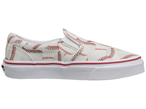 Vans Kids Sports Slip-on Shoe (11.5 Little Kid M, Baseball/Red) - Image 7