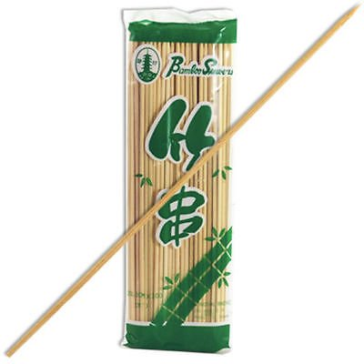 "Pack of 100 PCS. Bamboo Wooden 5"" Skewer Sticks Barbecues BBQ Shish Kabobs Grill from Unknown"