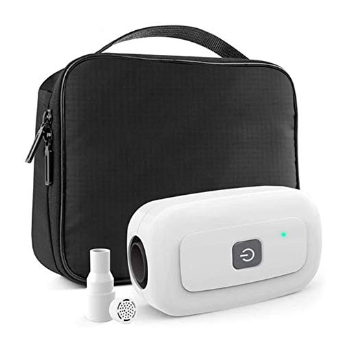 Latest Automatic Sanitizer Machine headytidy CPAP Cleaner Portable Mini CPAP Disinfector Ventilator Disinfection Universal Sterilization Respirator Air Tubes Cleaning Ozone Disinfection Sanitizer CPAP Mask Cleaner & Bag 2019