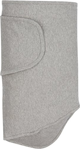 - Miracle Blanket Swaddle Unisex Baby, Solid Grey