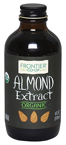 - Frontier Almond Extract Certified Organic, 4-Ounce Bottle