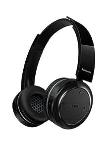 Panasonic RP-BTD5E-K - Auriculares de diadema abiertos inalámbricos con USB, color negro
