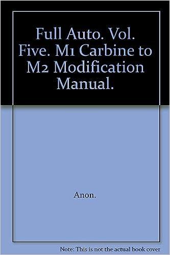 M1 carbine to m2 conversion modification manual full auto machine.