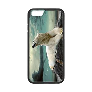 IPhone 6 Plus Polar bear Phone Back Case Art Print Design Hard Shell Protection TY041012