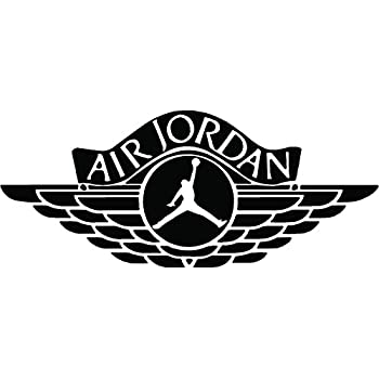 Air jordan jumpman huge wall decal sticker various sizes and colors 5 5