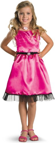 Sharpay's Fabulous Adventure - Pink Dress Child Costume Size Small (4/6x) ()