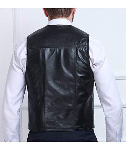 Comodo Slim Nero Da Gliet Moto Motociclista Giacca Outdoor In Fit Battercake Uomo Invernale Sintetica Pelle nwA0Tg0qf