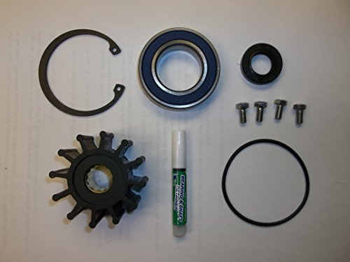 1999-2005 Volvo Penta Gas Sterndrive Raw Water Pump Repair Rebuild Kit 3.0. 4.3, 5.0, 5.7, 8.1