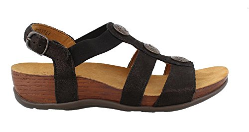 SAS Women's, Clover Sandals Black 10 - Clover Footwear