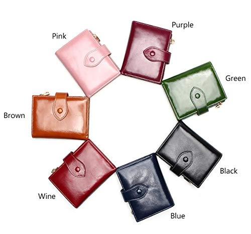 funzione Donna Pelle funzione Corta Brown Carino 2cm black In Versione Del Portafoglio Multi 12 Multi Portamonete Leather Coreana 9 Hjly Ew6zSS