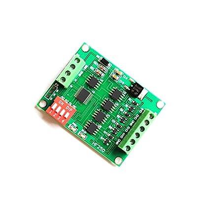 Q-BAIHE 0-20ma 4-Channel DA Generator RS485 Current Signal Generator Transmitter