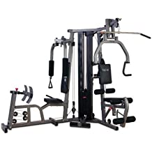 Galena Pro Home Gym Leg Press: Not Included, Stack Guard: Not Included