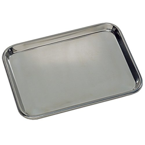 Medegen Medical Products 80170 Instrument Tray, Mayo-Style, Regular, 17-1/4'' x 11-3/4'' x 5/8''