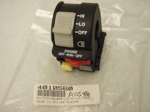 Polaris ATV OEM Handlebar Headlight Hi/Lo Beam Light/Kill/Stop Switch 4010591 (Headlight Light Switch)