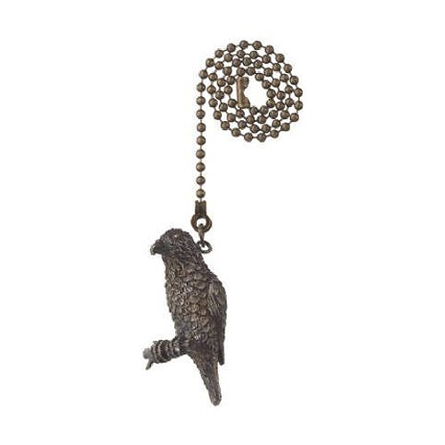 Westinghouse Lighting  77637 Corp 12-Inch Parrot Pull Chain, Antique Brass