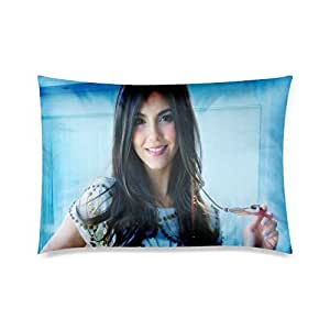 At-Baby Bedding Home Decoration Custom Victoria Justice Zippered Pillow Cases 20x30 (Twin sides) by icecream design