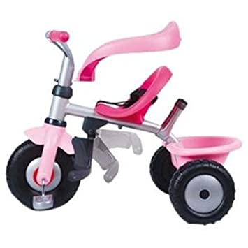 Smoby Porteur et Tricycle - Be Fun Confort Fille  Amazon.fr  Bébés ... 34013ffa405