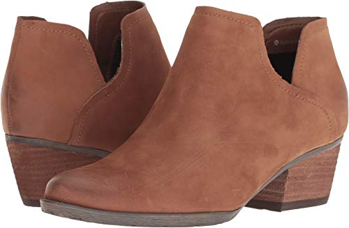 Blondo Women's Victoria Waterproof Cognac Nubuck 6 M US M
