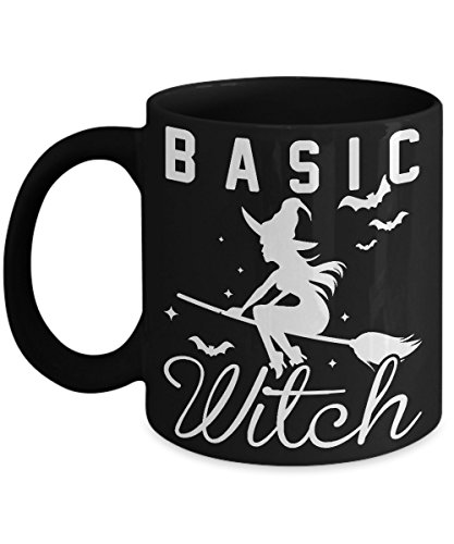 Basic Witch Funny Halloween Quote Coffee Mug Gift for Women ()