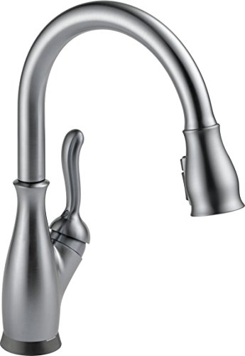Delta Faucet Leland Single-Handle Touch Kitchen Sink Faucet with Pull Down Sprayer, Touch2O and...