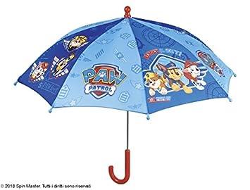 PERLETTI 75124 Boy 38/8 Hombre Patrulla Canina Impresión Seguridad Paraguas Abierto