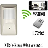 PalmVID WiFi Motion Detector Hidden Camera Spy Camera with Live Video Viewing