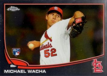 2013 Topps Chrome Baseball #119 Michael Wacha Rookie Card
