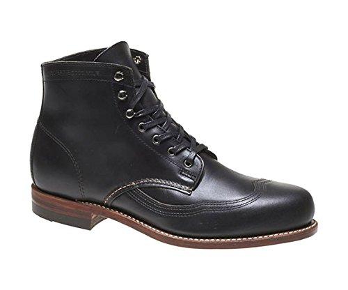 cb1e3f4652a Wolverine 1000 Mile Men's Addison Wingtip Boots,Black,9 D - Buy ...
