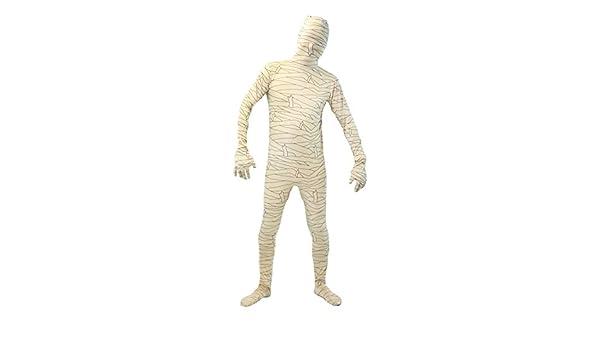 Partilandia Disfraz Momia Segunda Piel Adulto Halloween (S ...